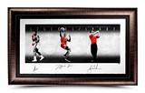 LEGENDS OF SPORTS PLATINUM EDITION FRAMED