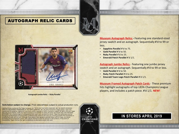 2018-19 Topps UEFA Champions League Museum Collection Soccer-5.jpg