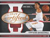 2018-19 Panini Certified Basketball