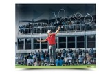 RORY MCILROY AUTOGRAPHED MAGIC MOMENTS PICTURE