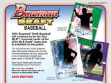 2018 Topps Bowman Draft Baseball Asia Edition