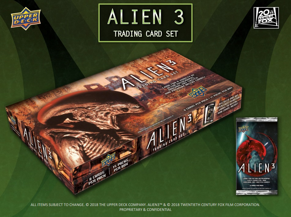 2019 Upper Deck Alien 3