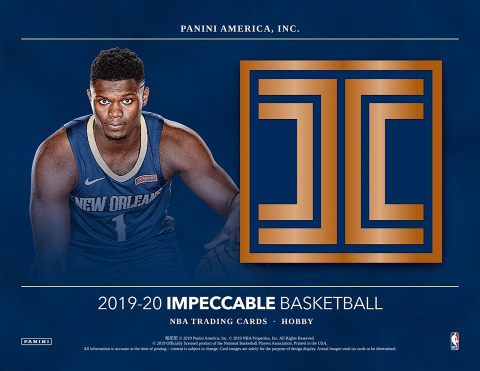 2019-20 Panini Impeccable Basketball Hobby