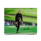 GARY PLAYER AUTOGRAPHED THE KICK PHOTO