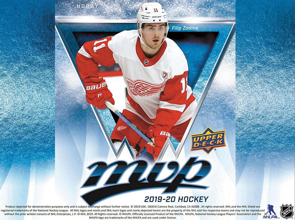 2019-20 Upper Deck MVP Hockey