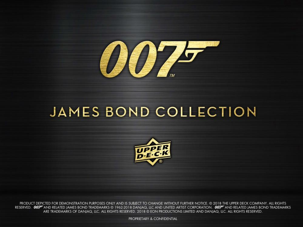 2019 Upper Deck James Bond Collection