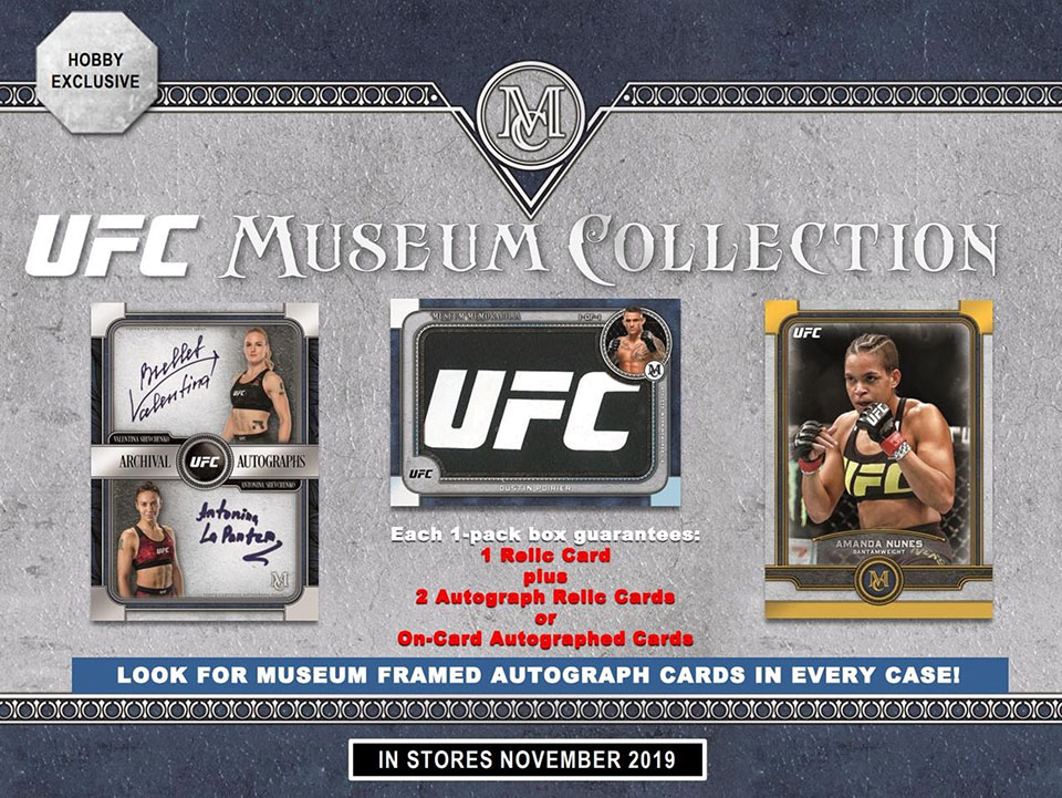 2019 Topps UFC Museum Collection