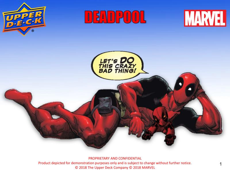 2019 Upper Deck Marvel Deadpool Hobby