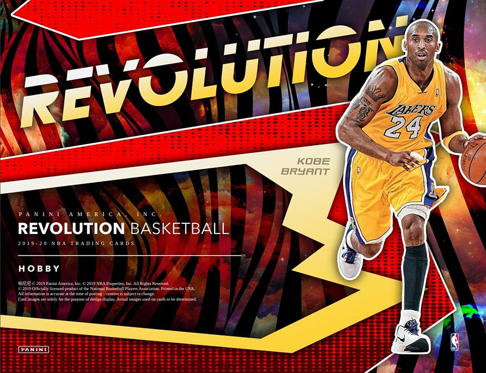 2019-20 Panini Revolution Basketball Hobby