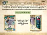 2019 Topps Gypsy Queen Baseball