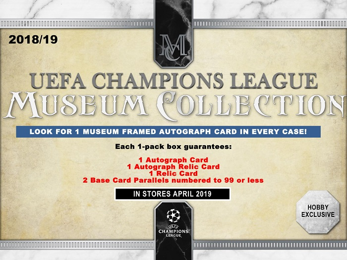 2018-19 Topps UEFA Champions League Museum Collection Soccer