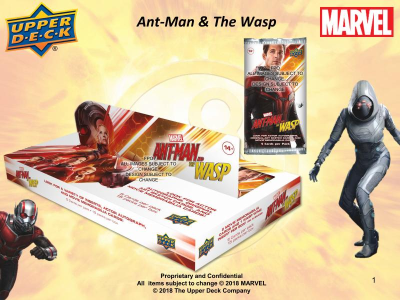 Marvel Ant-Man and The Wasp Trading Cards