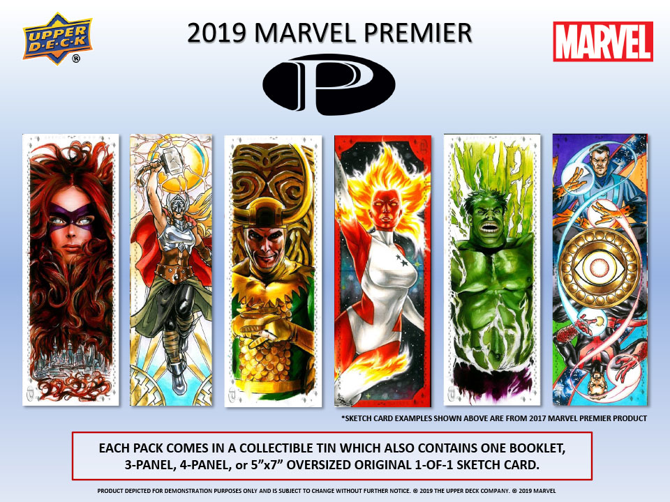 2019 Upper Deck Marvel Premier Trading Card
