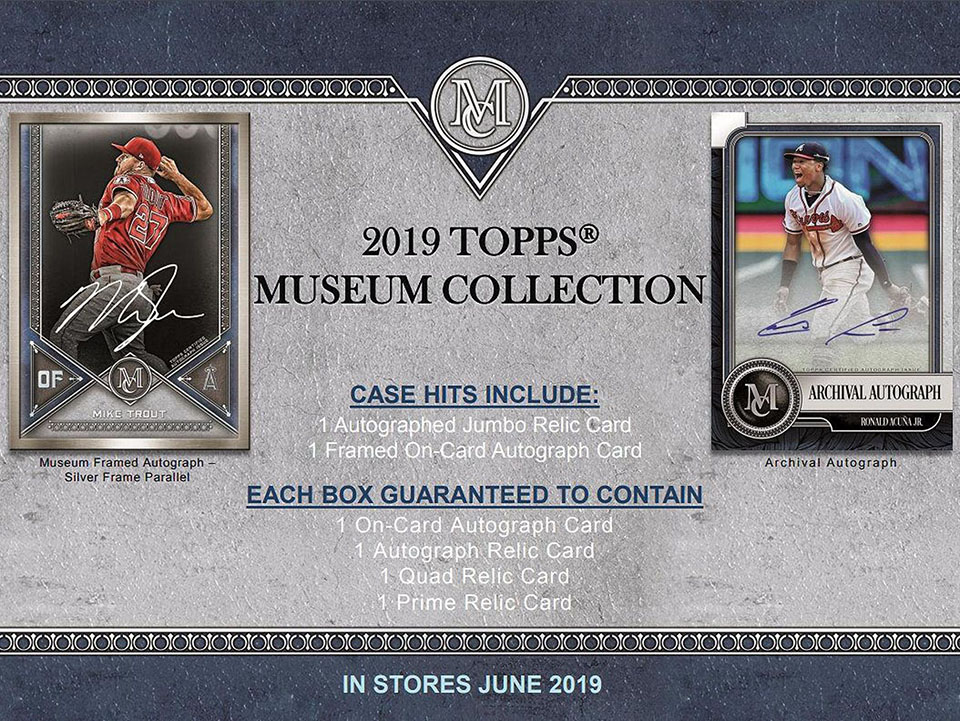 2019 Topps Museum Collection Baseball Hobby