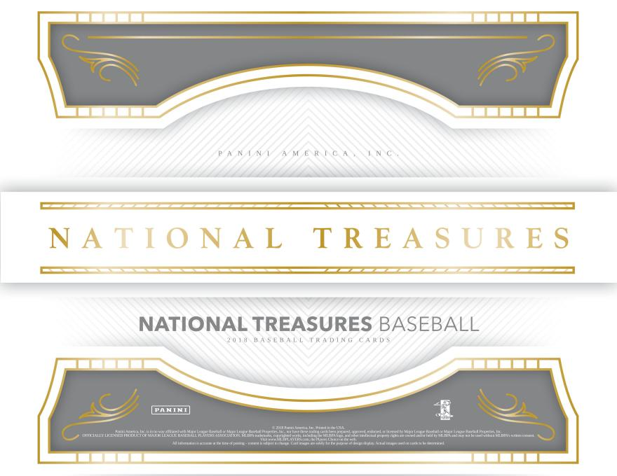 2018 Panini National Treasures BB