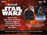 2018 Topps Star Wars Finest HOBBY