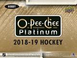 2018-19 Upper Deck O-Pee-Chee Platinum Hockey Hobby