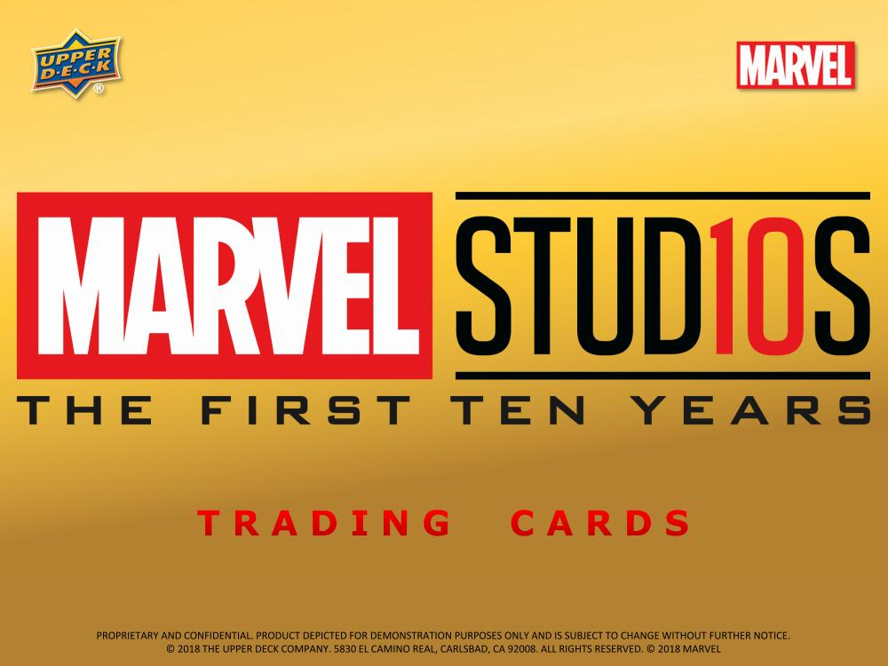 UD Marvel Cinematic Universe 10th Anniversary