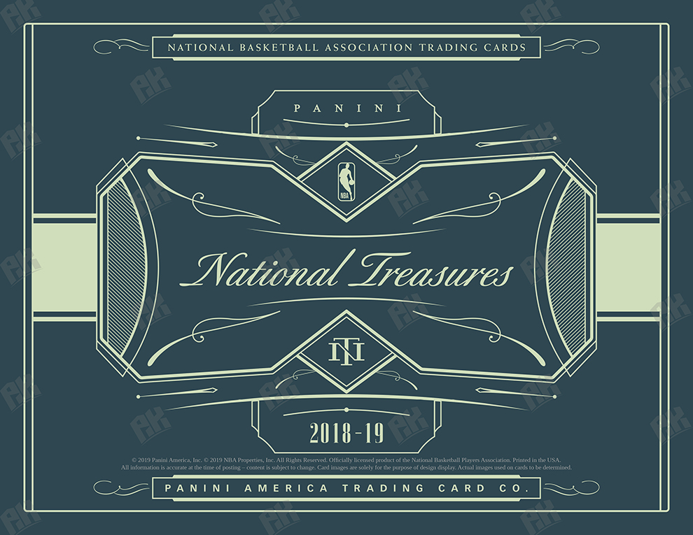 2018-19 Panini National Treasures BK