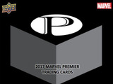 2017 Upper Deck Marvel PREMIER 漫威 高端白金系列