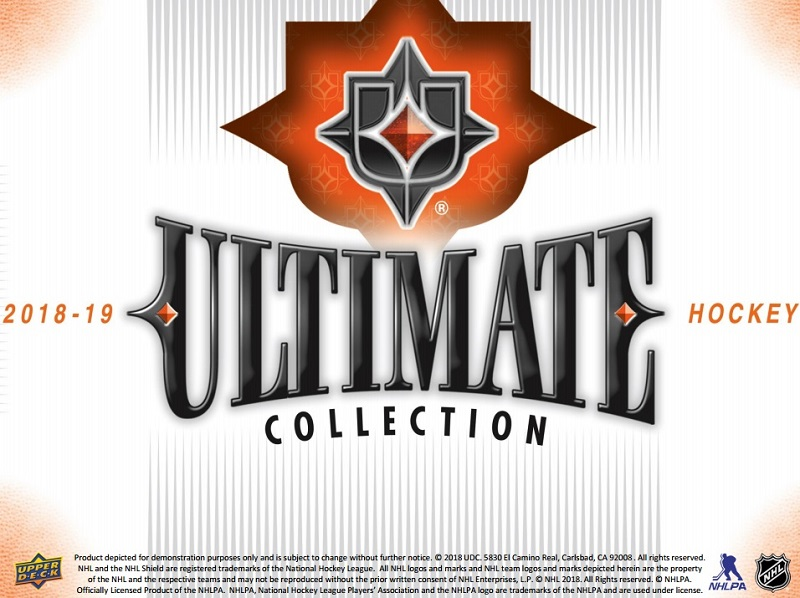 2018-19 Upper Deck Ultimate Collection Hockey