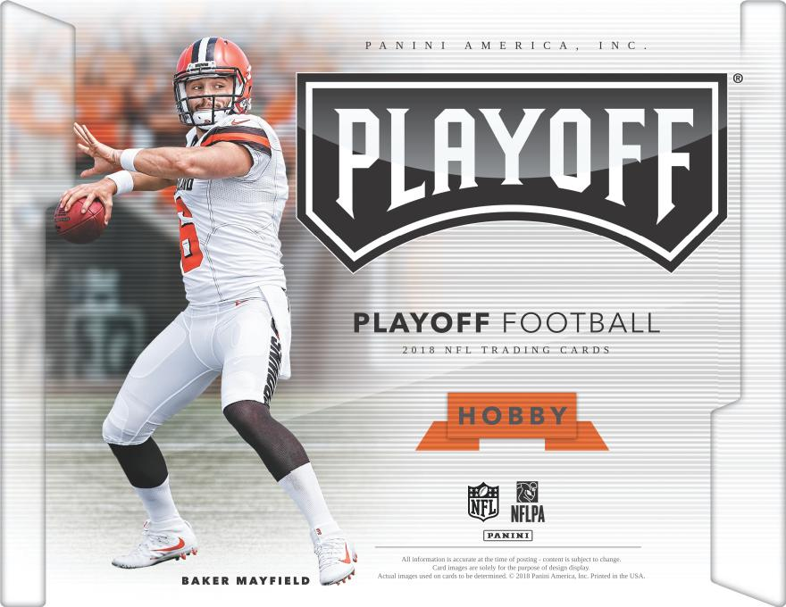 2018 Panini Playoff FB Hobby