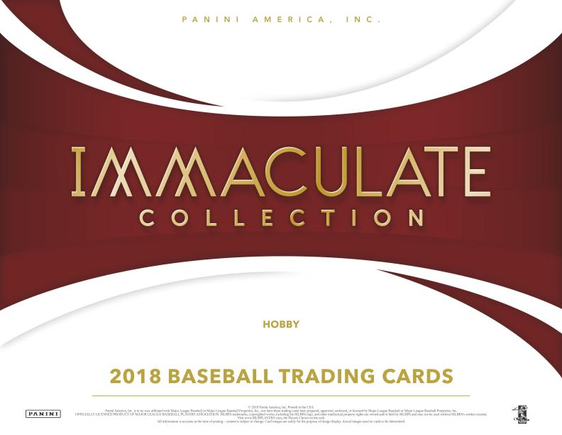 2018 Panini Immaculate BB