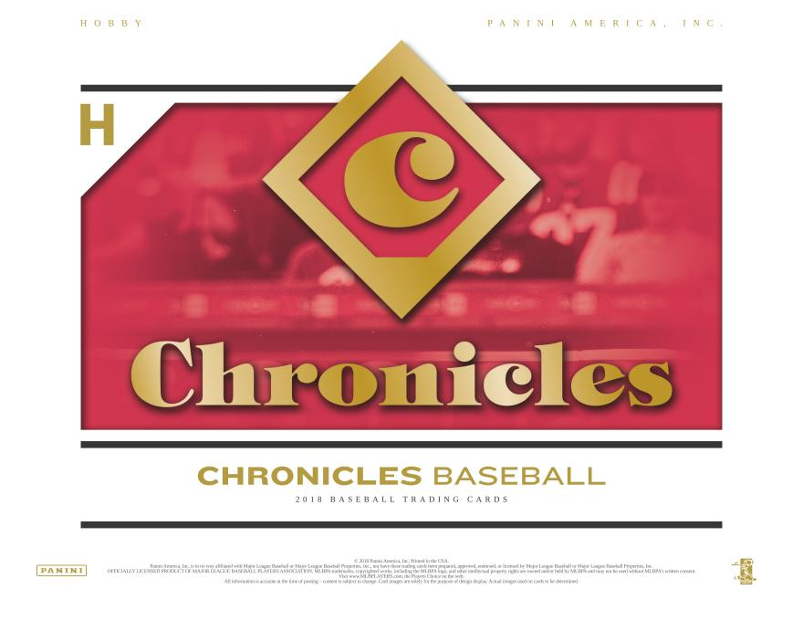 2018 Panini Chronicles BB Hobby