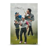 RORY MCILROY SIGNED DESTINY FULFILLED 16 X 24