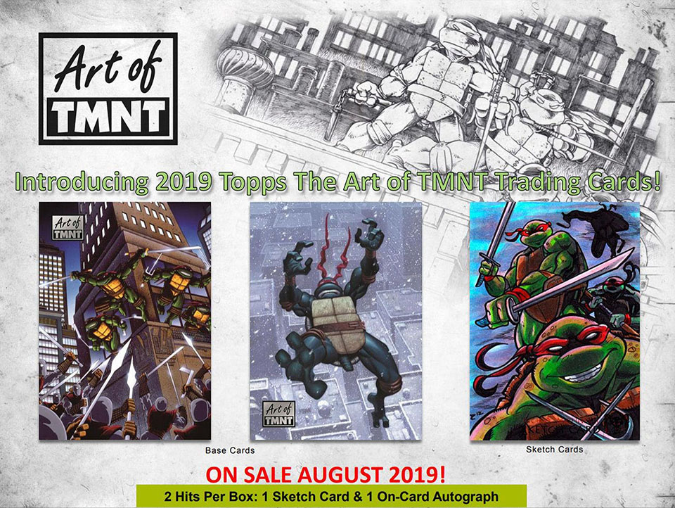2019 Topps The Art of TMNT