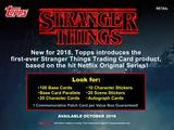 2018 Topps Stranger Things RETAIL R2