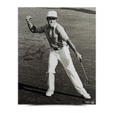 GARY PLAYER AUTOGRAPHED VICTORY CELEBRATION PHOTO