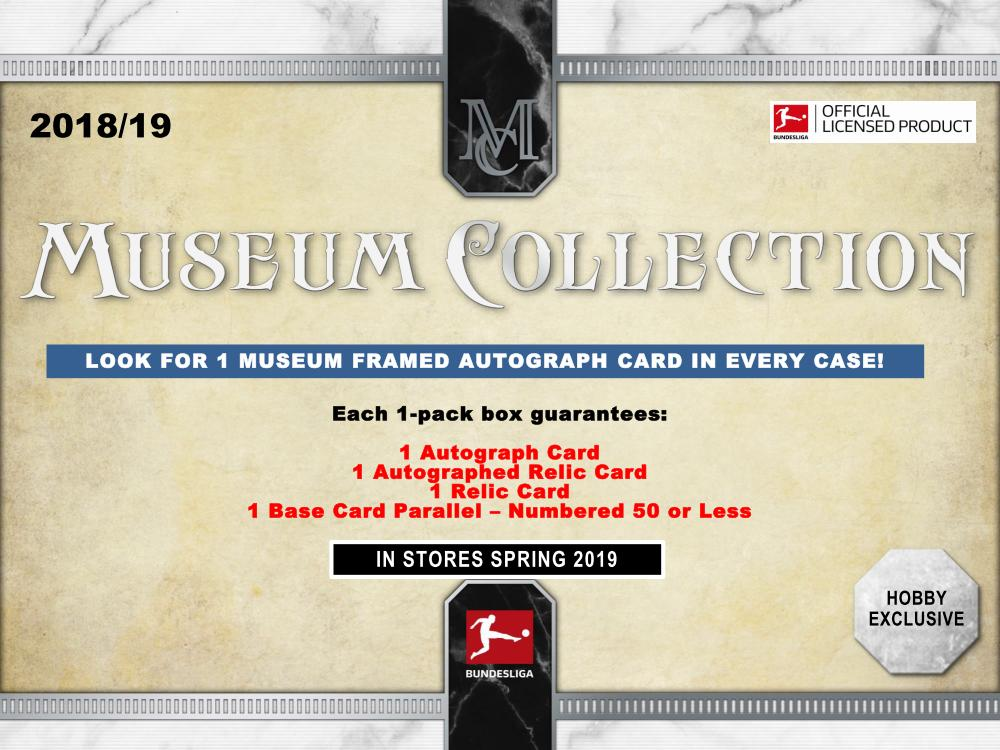 2019 Topps Bundesliga Museum Collection Soccer